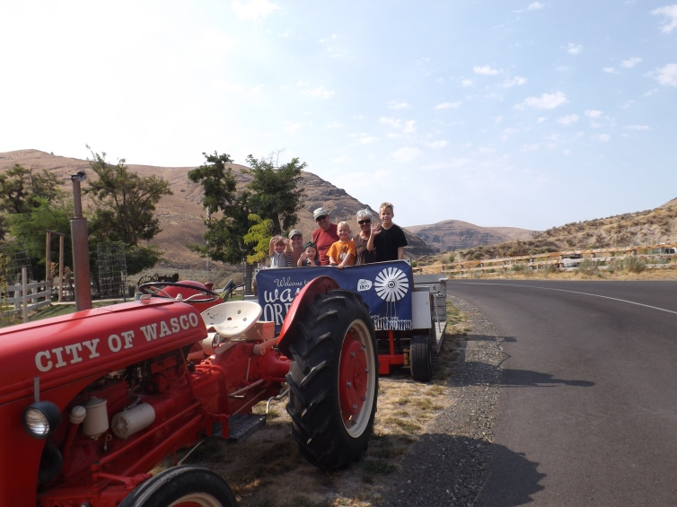 Tractor ride