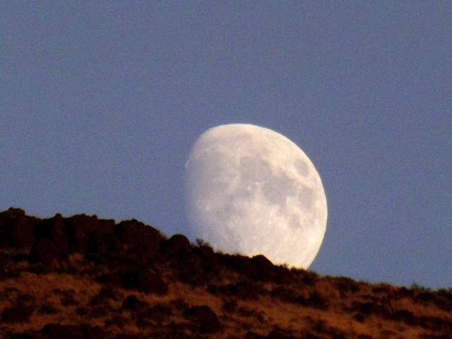 Moon over matter